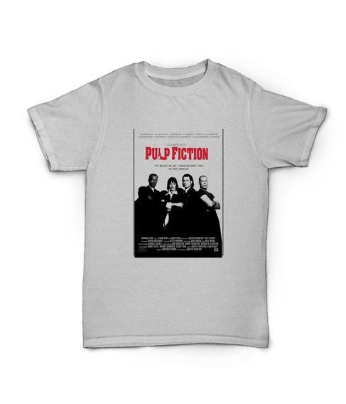 Remera Pulp Fiction Peliculas Series