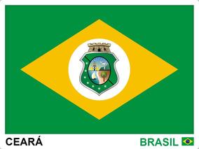 Adesivo Bandeira Kit 26 Estados Brasileiros Tam 7,5x10 Cm