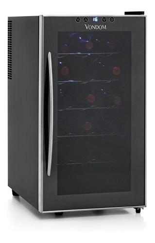 Imagen 1 de 3 de Cava De Vinos Vondom 18st Acero 18 Botellas