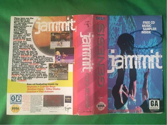 Encarte Mega Drive Genesis Original Jammit