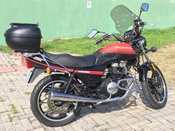 Cb 450 Dx 1988 - Original De Colecionador