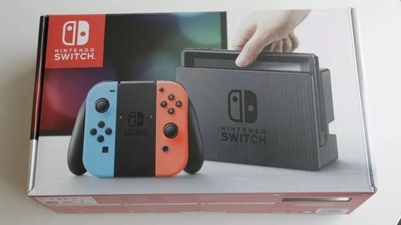 Nintendo Switch Desbloqueado Sd 64gb