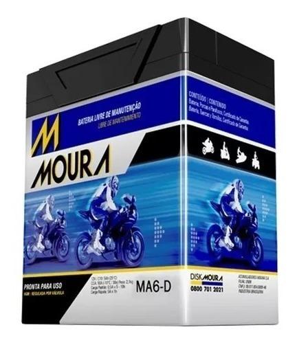 Bateria Agm Moto Cbx 250 Twister Fazer 250 Tenere 250 Ma6-d