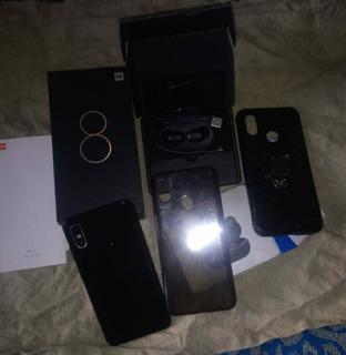 Xiaomi Mi 8 Y Audífonos Haylou Bluetooth