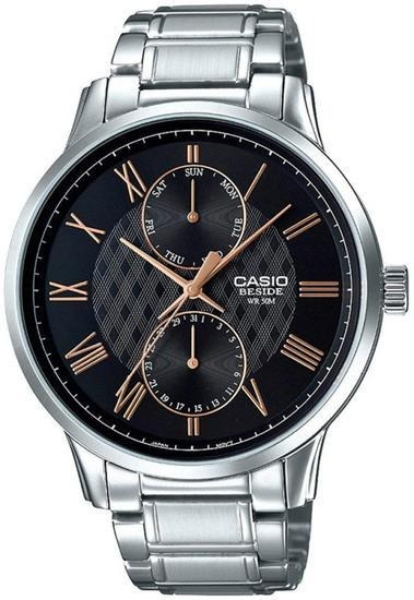 Relógio Casio Beside Analogico Bem-313d-1avdf M