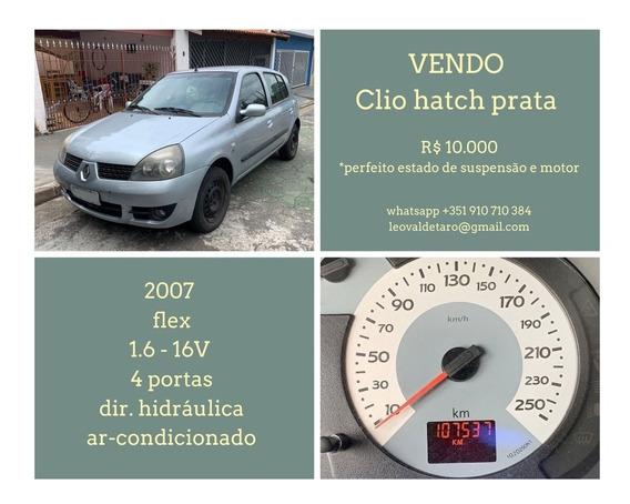 Renault Clio Hatch - 1.6, 16v, 4 Portas, Dir. Hidráulica, Ar