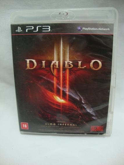 Jogo Diablo Ps3 Midia Fisica Original