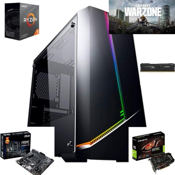 Pc Gamer Ryzen 5 3600 Ssd 480gb Gtx 1050ti 8b Hyperx