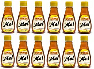 Kit Com 12 Bisnagas Mel Puro 500g - Natunectar 100% Puro