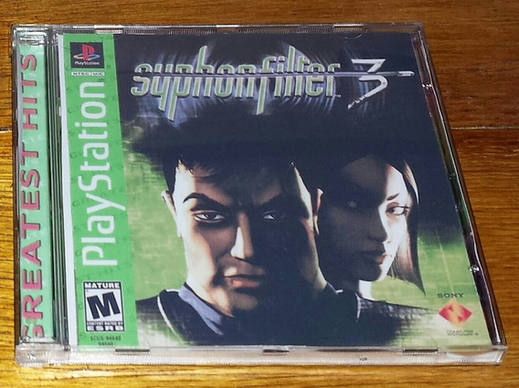 Syphon Filter 3 Patch Ps1,ps2 E Ps3