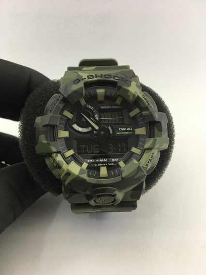 Relógio De Pulso Casio G-shock Ref:ga-700cm