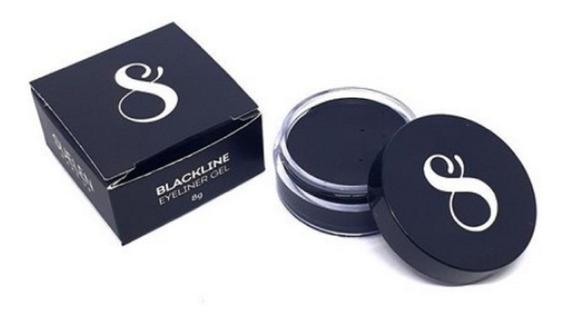 Delineador Em Gel Suelen Makeup Blackline Preto Prova D