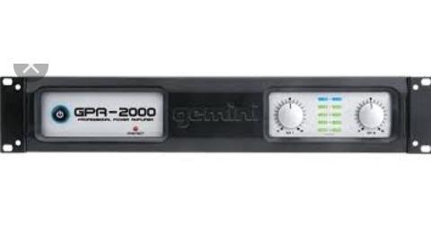 Amplificador Gemini Gpa2000