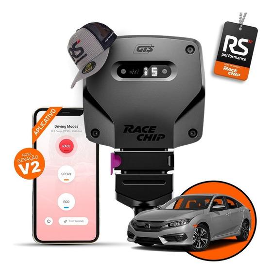 Chip De Potência Honda Civic Racechip Rs V2 + Aplicativo