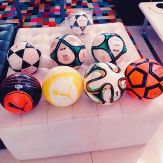 8 Balones De Fútbol Usados Como Nuevos 150 Trumps Todos