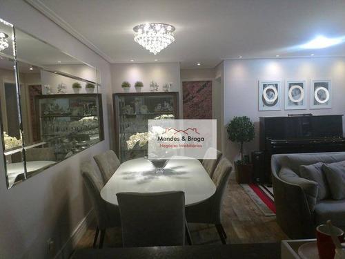 Imagem 1 de 21 de Apartamento Com 3 Dormitórios À Venda, 83 M² Por R$ 680.000,00 - Centro - Guarulhos/sp - Ap2402