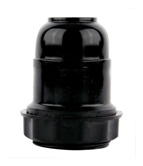 Kit 5 Bocal Para Abajour - Preto - 14070 - Foxlux