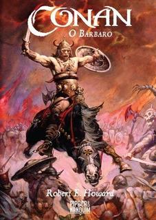 Livro Conan O Bárbaro Ill - Pipoca E Nanquim - Capa Dura