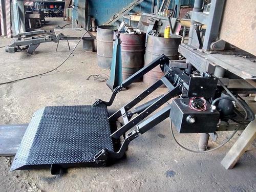Plataforma Elevatoria Carga 500kg Volks Hr Bongo Mb Ford