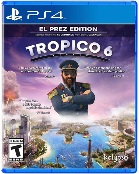 Tropico 6 - Ps4 - Pronta Entrega!