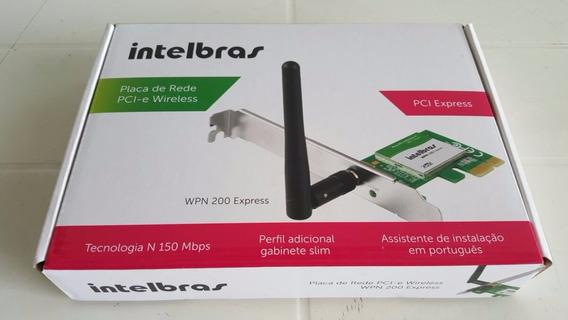Placa De Rede Pci-e Wireless Wpn 200 Express