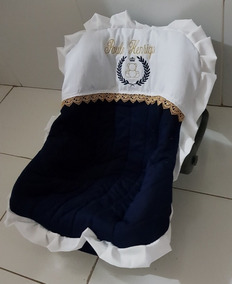 Capa Para Bebê Conforto Menino