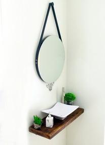 Espelho Redondo Adnet 50cm Luxo - Privadachique Maravilhoso!