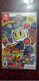 Super Bomberman R Videojuego Nintendo Switch