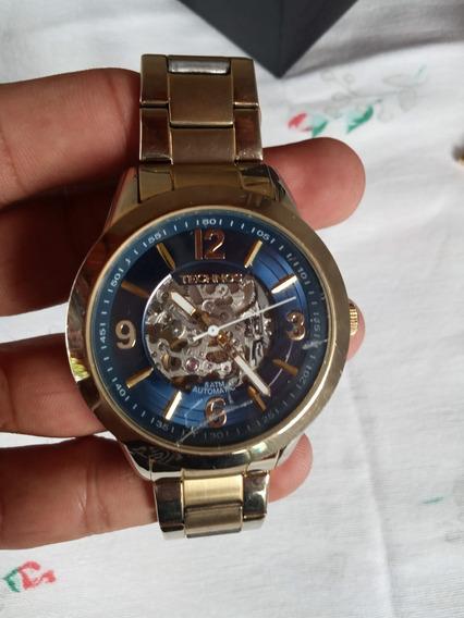 Relógio Technos Classic Automatic Luxo 8n24ag/4p - Usado