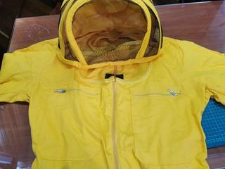 Overol Para Apicultura Amarillo Talla Xl - 44 - Como Nuevo