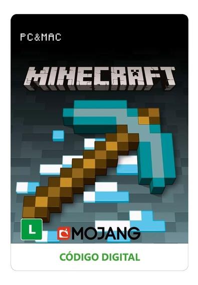 Minecraft Pc Mac Código Digital Oficial Revenda Autorizada