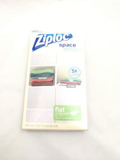 Ziploc Space Bag Flat