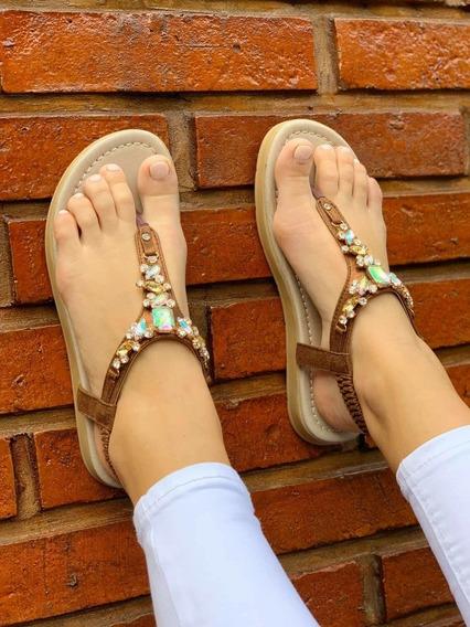Sandalias Chatitas Zapato De Mujer