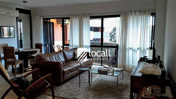Apartamento Com 3 Dormitórios À Venda, 130 M² Por R$ 630.000 - Jardim Vivendas - São José Do Rio Preto/sp - Ap1881