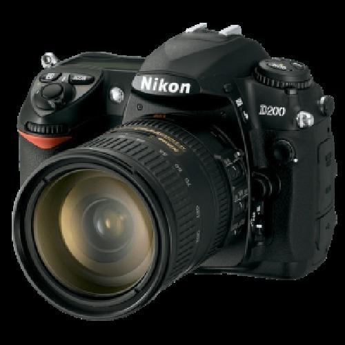 Kit Câmera D200 + Lente Nikon 18-70mm + Novo Apenas 20k Clic
