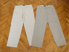 Lote 2 Pantalones De Vestir Para Hombre De Banana Republic