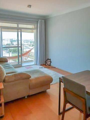 Apartamento Com 1 Dormitório À Venda, 69 M² Por R$ 207.000,00 - Vila Industrial - Campinas/sp - Ap1618