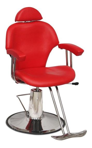 Silla Sillon Barberia Estetica Hidraulica Reclinable Salon E