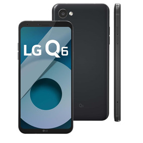 Lg Q6 Preto 32gb Android 7.0 4g 13mp Octa-core 3gb Ram