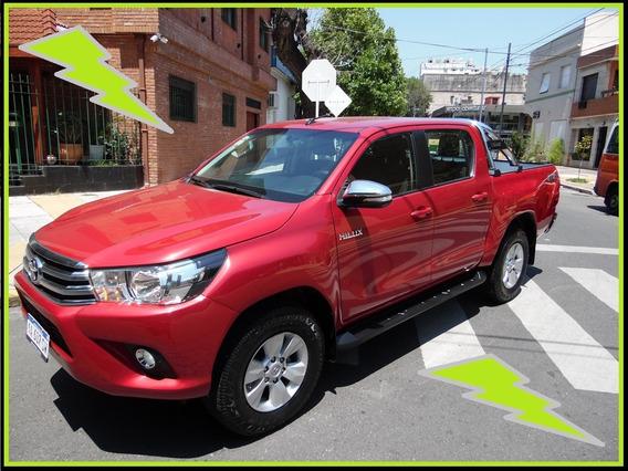 Toyota Hilux 2.8 Srv Dc 4x4 Mt - 2016 - Singa -