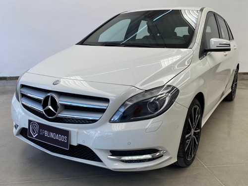 Mercedes B200 Sport 1.6t 2014 Blindada Blindarte Niiia