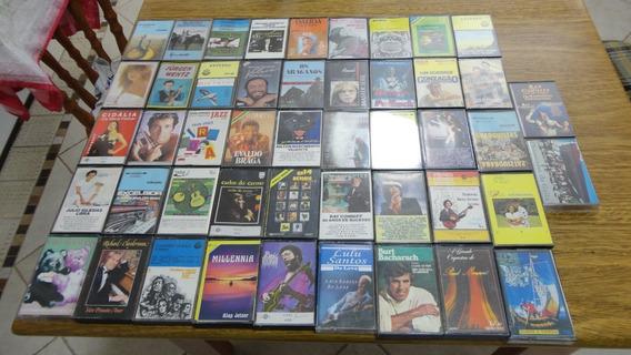 Fitas Cassetes Originais # Lote Com 47 Peças # Ótimo Estado