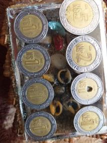 Monedas De $5$2 Y 7 Monedas De A $1 Nuevos Pesos