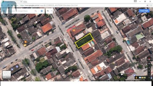 Imagem 1 de 1 de Terreno A Venda No Bairro Vila Santo Antônio Em Guarujá - - 544-1