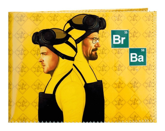 Billetera Breaking Bad Serie Netflix +tarjetero Super Cómoda