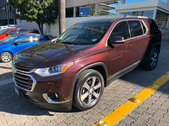 Chevrolet Traverse 3.6 Lt Piel At 2018