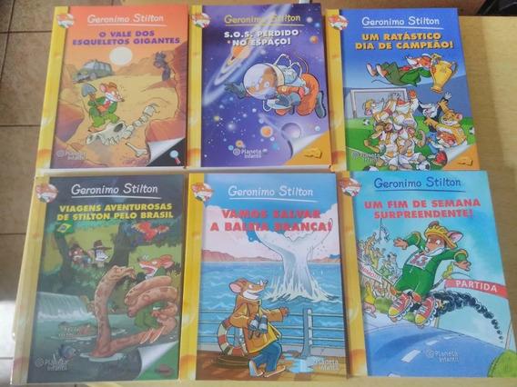 Coleção Com 18 Livros De Geronimo Stilton