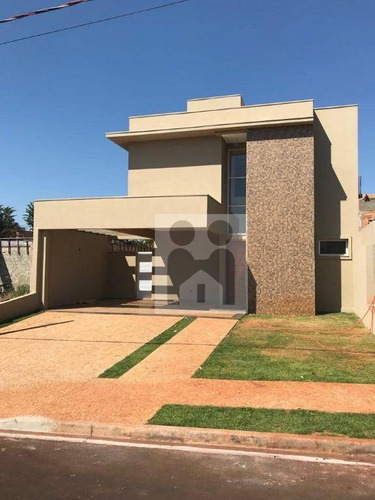 Imagem 1 de 20 de Casa Com 3 Dormitórios À Venda, 181 M² Por R$ 780.000 - Jardim Cybelli - Ribeirão Preto/sp - Ca0367