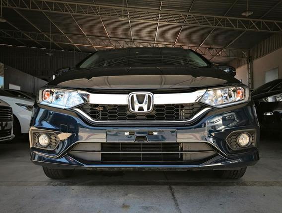 Honda City Ex 1.5 Aut. Azul 2018/18