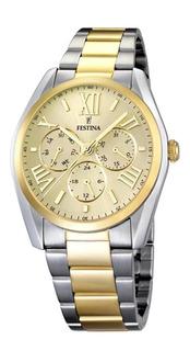 Reloj Hombre Festina F16751 Multifunción Acero Sumergible